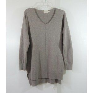 DREAMERS sweater tunic v neck long sleeve cotton
